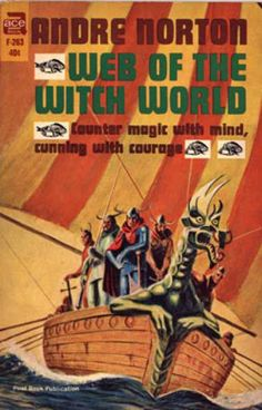 Ace Books - Web of the Witch World