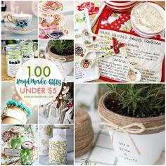 100 Handmade Gifts Under Five Dollars