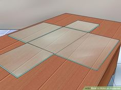 How to Make an Aquarium (with Pictures) - wikiHow Turtle Aquarium, Wall Aquarium, Cichlid Aquarium, Aquarium Stand, Aquarium Setup, Glass Aquarium, Home Aquarium, Aquarium Design, Aquarium Fish Tank