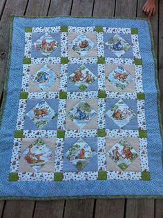 Winnie the Pooh baby blanket. For step by step guide how to make ... : pooh quilt - Adamdwight.com