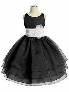 Black Three Layer Organza Dress #Glimpse_by_TheFind