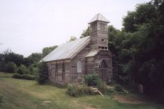 pics of old churches | An old, abandoned church in the Loess Hills.