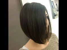Corte de cabello bob corto / Corte de cabello bob largo paso a paso / Co...