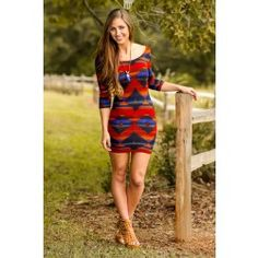 All Figured Out Dress-Royal - $36.00