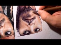 Captain Jack Sparrow drawn with ballpoint pen by Allan Barbeau - must learn how to do this