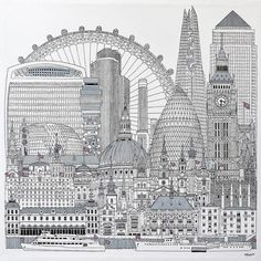 Buy London, Ink drawing by Simon Fairless on Artfinder. Discover thousands of other original paintings, prints, sculptures and photography from independent artists.