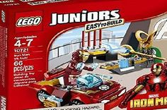 Super Fast Cars, Lego Juniors, Man Vs, Loki, Cosmic, Iron Man, Cube, November, Container
