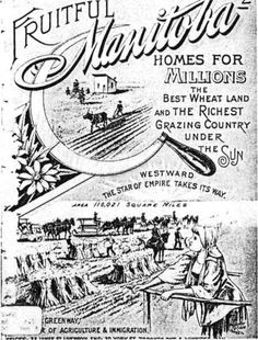 Antique Canadian Immigration Poster Canadian History, Canadian Art, American History, Old West, Canadian Identity, History Meaning, Migrate To Canada, Canadian Things, Immigration Canada