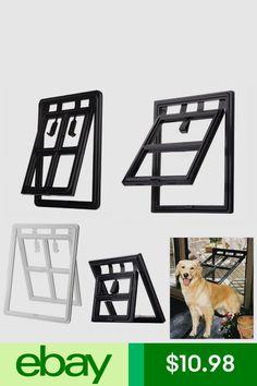 2 Way Magnet Screen Door Moustiquaire Pet Dog Cat Patio Screen Door w/ Bolt