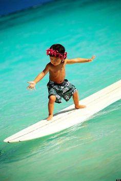 Keiki surfer