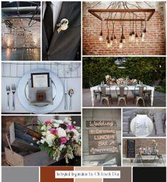 Modern Rustic Industrial Wedding
