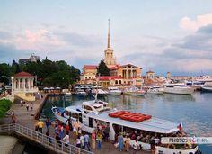 морской вокзал в Сочи #travel #sochi #russia