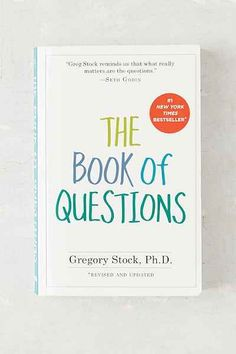 The Book Of Questions By Gregory Stock Ph.D. - Urban Outfitters