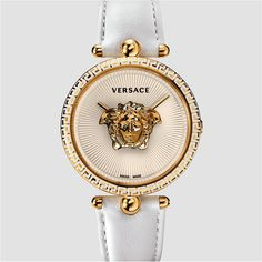 #Versace White #Palazzo #Empire #Watches #DiscoverMore => http://ONLINEDELUX.COM  #Accessories #Amazing #top #brand