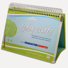 daily character counts quotes and activities :)