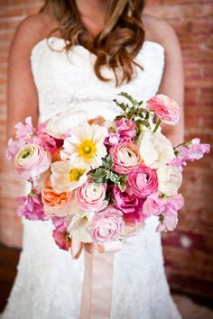 Beautiful spring bouquet
