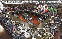 Y empezó la carrera electoral #Carlincatura :/