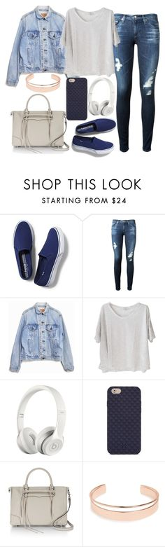 """Untitled#1292"" by mihai-theodora ❤ liked on Polyvore featuring Keds, AG Adriano Goldschmied, Levi's, Clu, Beats by Dr. Dre, Tory Burch, Rebecca Minkoff and Leith"