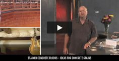 Stained Concrete | Staining Concrete | How to Acid Stain Floors - The Concrete Network