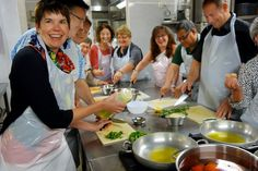 Cooking class, Florence