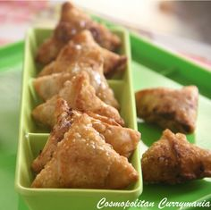 Mini Cream Cheese Samosa: Festive Indian #Recipe