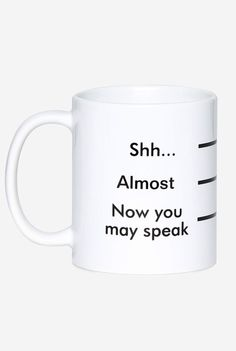 Coffee measurement mug