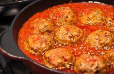 Boulettes de viande à la sauce tomate WW,recette d'un délicieux plat de boulettes de viande hachée, très facile et rapide à faire pour un repas léger.