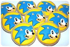 Sonic Hedgehog Cookies | All Things Iced
