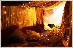 one day when i want to make my lounge into a cosy haven and put up fairy lights...