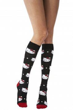 Pretty Polly Hello Kitty All Over Design Knee High Socks  £6.00