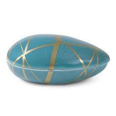 Modern Pottery | Decorative Ceramic Santorini Aphrodite Box | Jonathan Adler
