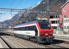 160 001 SBB XTmass 160 at Altdorf, Switzerland by Georg Trüb