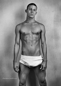 Channing Tatum - Old School Modeling Shot #ChanningTatum #Channing