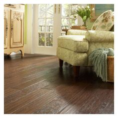 Harris Wood Trailhouse Hickory Collection. Available at WCT Design Flooring.