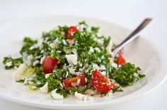 Cauliflower and Kale Salad (Cauliflower Tabouli) Recipes:)