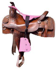 Junior Designer Sidekicks Pink Color with Tapaderos Kids Saddle, Horse Saddles, Pink Color, Cowboy Hats, Design, Fashion, Moda, Saddles, Fashion Styles