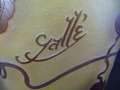 Vase Gallé Clématites | Le Guide des Antiquaires