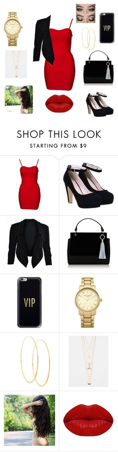 """Date night or Girls night out "" by mosthated89 ❤ liked on Polyvore featuring Topshop, Casetify, Lana, Full Tilt and Winky Lux"