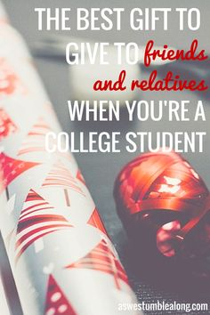 Stuck on what to gift friends+family on a college budget? Save time+money. Here's the perfect gift. #EHoliday [ad]