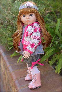 "HARMONY CLUB DOLLS. Find one of a kind custom wigged 18"" Dolls the size of American Girl. Visit www.harmonyclubdolls.com"