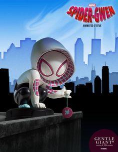 Gentle Giant Ltd est ravi de vous annoncer la toute dernière parution de statuette de la collection Marvel Animated: Spider-Gwen!