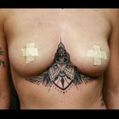 under boob tattoos 2 34