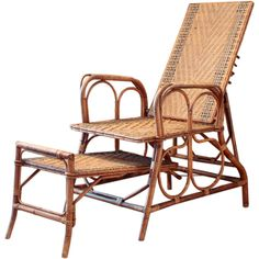 collected with a keen eye & love for old things: design finds & ideas Rattan Furniture, Outdoor Furniture, Outdoor Chairs, Outdoor Decor, Recliner, Vintage Antiques, Bamboo, Old Things, Conservatory