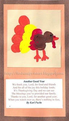 Handprint and Footprint Arts & Crafts: Thanksgiving/Fall art