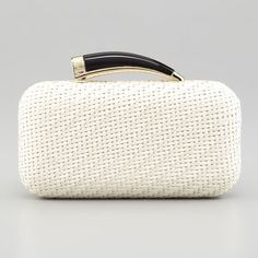 Rank & Style Top Ten Lists   Vince Camuto Horn Clutch #rankandstyle