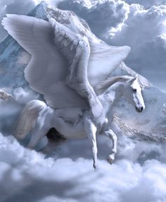 More Mystical, Mythical, Magical Board: Pegasus, Unicorn And Fairies, Unicorn Fantasy, Unicorn Horse, Unicorns And Mermaids, Unicorn Art, Fantasy Art, Pegasus, Magical Creatures, Fantasy Creatures
