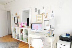Lauren Elizabeth | a style + beauty blog: Apartment Tour: Office Space
