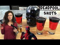 Deadpool Shots - Tipsy Bartender - YouTube