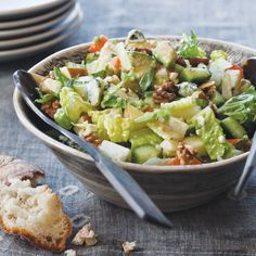 Chopped Salad with Blue Cheese Dressing | Food & Wine
