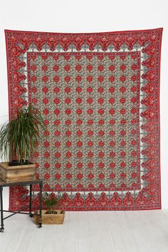 Magical Thinking Floral Printed Tapestry